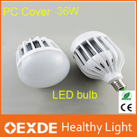 NEW!!!China product for Spain lamp e27 36W high lumen led bulb