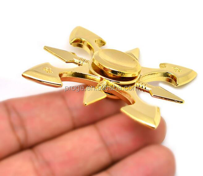factory wholesale price anti stress metal alloy hand spinner ninja