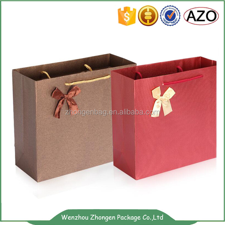 Wedding candy packing paper bags,wine bottle paper bags,hand paper bags