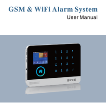 WIFI alarm system GSM GPRS with SIM card auto dial APP remote control wireless security home alarm system new alarm