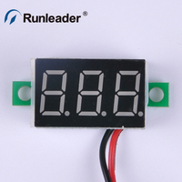 Pocket Voltage Tester Mini Display LED Digital Voltmeter Voltage Tester Meter