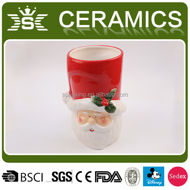 Wholesale ceramic Series of Santa Claus vase