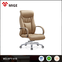 China Manufacturer best Seller luxury leather recliner chair with armrest and glidewheel