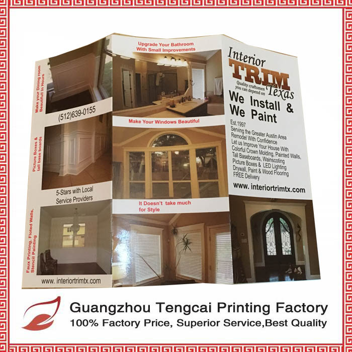 OEM magazine and catalogue printing made in factory price