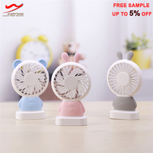 2 in 1 Portable mini USB mobile phone fan for Indoor outdoor