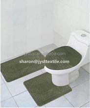 3pcs PP toliet seat/cover toilet set/ cover toilet Rug