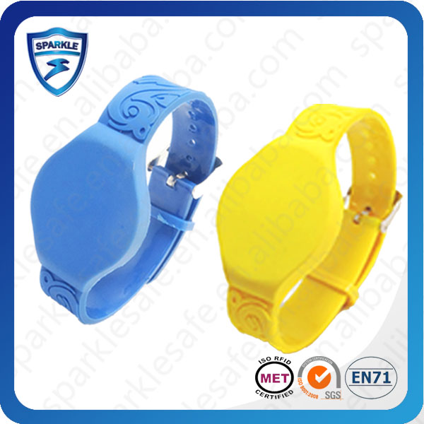 SP-WS-05 safety wristband alarms