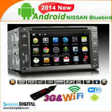 Pure Android 4.2 Car DVD Player Bluebird (2007-2011) Capacitive Car DVD player