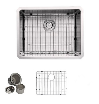 Grades Of Stainless Steel Sinks : ... Grade Stainless Steel Undermount Zero Radius Single Bowl Kitchen sink