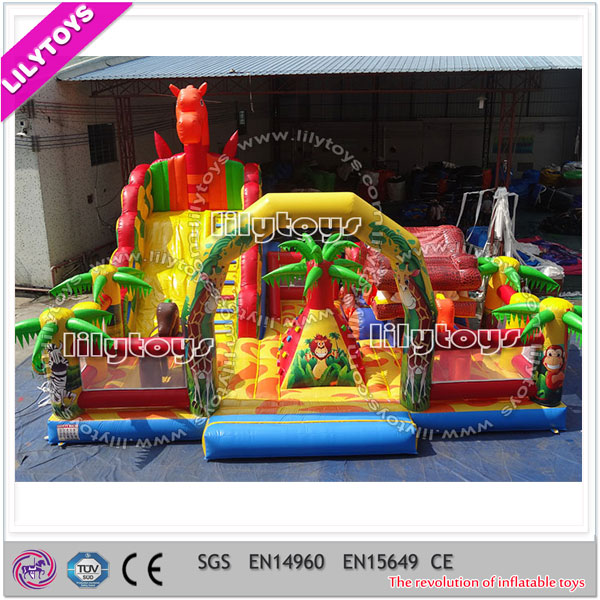 Fun City Board Game, Fun City Inflatable Equipment for Kids