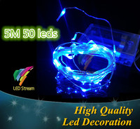 5M LED String Light red/green/blue/white/warm white/pink/purple/rgb LED Christmas Strip Light
