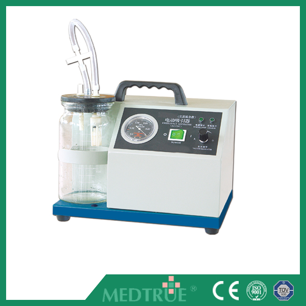 CE/ISO Approved Medical Mobile Portable Electric Emergency Suction Unit (MT05001017)