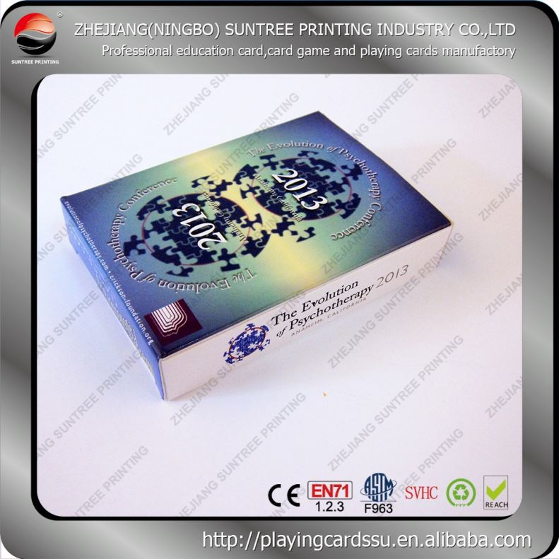 Factory supply print and play card games wholesale
