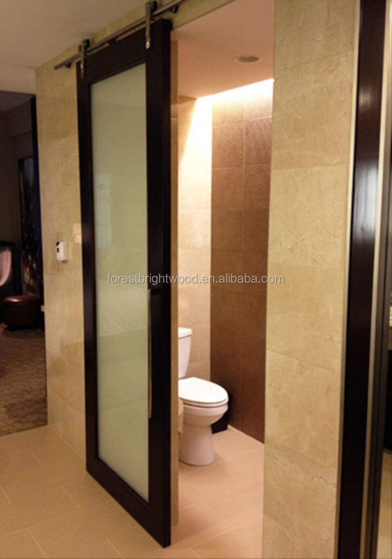 Sliding Barn Door Type Sliding Glass Door For Hotel