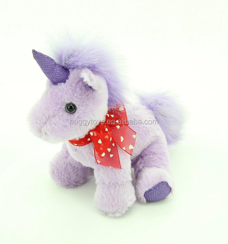 nice plush baby milo toys unicorn stuffed and plush toys with heart shapped ribbon