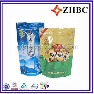 Standing up wine bag for packaging of alcohol beverage