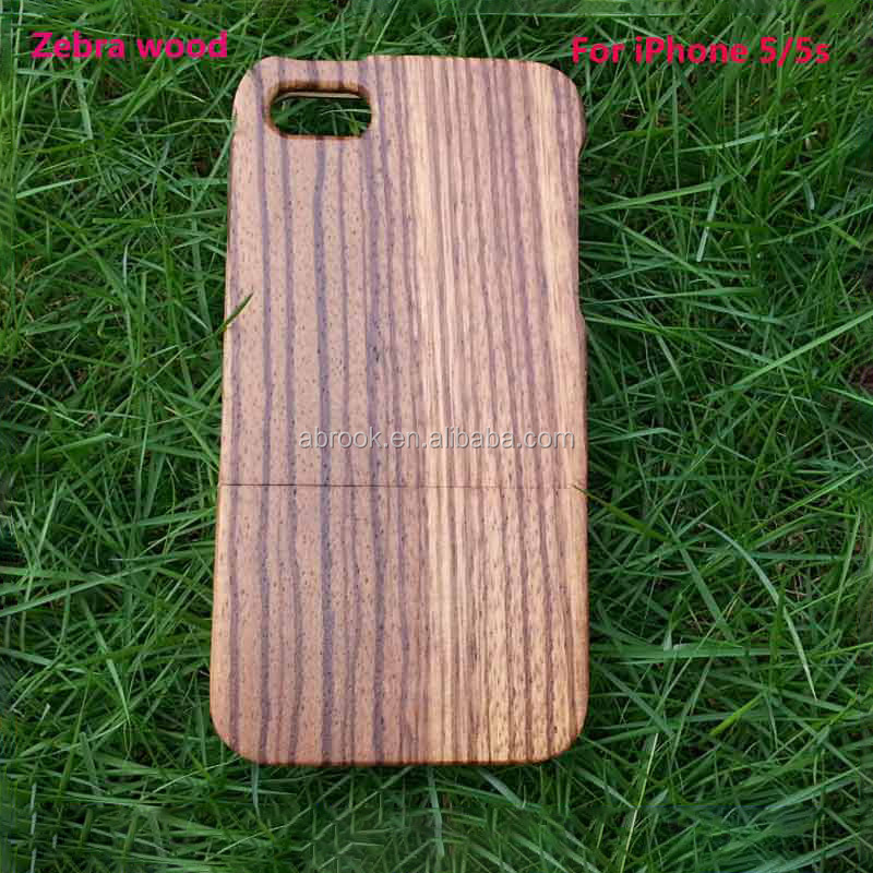 Natural blank wood case for iphone 5,for iphone 5 case mobile <strong>phone</strong>