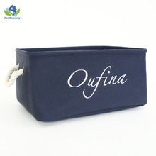 custom eco-friendly polyester fabric storage box