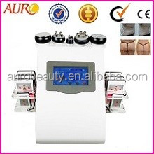 AU-61B Europ market fat reduction 650 laser water cavitation heater 3 polar RF