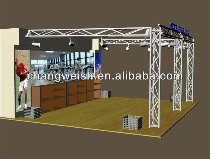 Sports Garment Shoes Display Fixture shop design