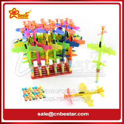 Funny Design Plane Shape Toy Candy