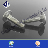 stainless steel 304 316 316L carriage bolt