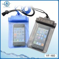 smart mobile phone pvc waterproof case for iphone5 5s