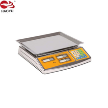 factory sales electronic scale 40kg Sri Lanka digital price computing scale for fruits, vegetable,meat and food