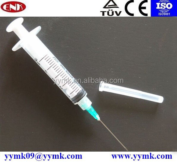Disposable medical consumables supply Dispensing Syringes 5cc