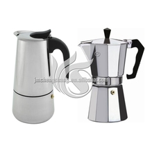 On sale good quality coffee pot/aluminum Moka coffee maker