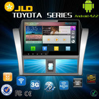 Android 4.2 car audio gps navigation system for Toyota VIOS