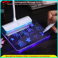Students Innovative table message Lamp / Foldable usb rechargeable desk led light