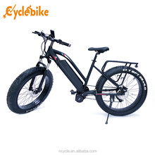 2017 hot selling bafang mid drive motor 1000w fat tire electric bicycle with bike hidden battery