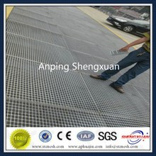 Web Forge Steel Grating for Construction