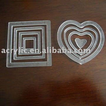 Laser Cutting Acrylic Christmas Decoration