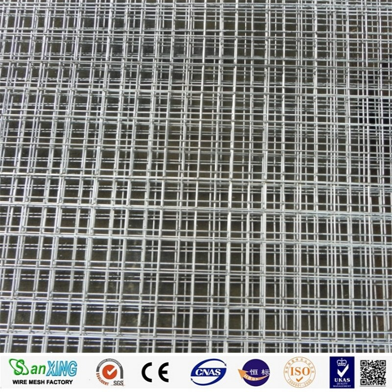 Galvanized Welded Wire Mesh / Welded Wire Mesh Fence / Bird Cage Welded Wire Mesh Roll