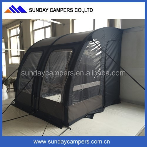 Automatic van air tent camping tent with inflatable pole