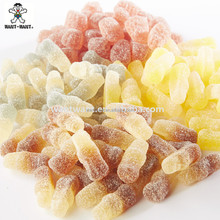 Cola Bottle Shaped Gummy Candy Lemon/Cola/Grape/Soda