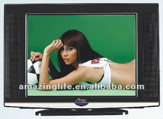"hot sell popular14""-29"" crt tv lcd tv with certicate"