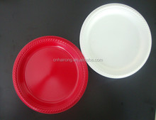 China Manufacturer Disposable colorful round plastic plate