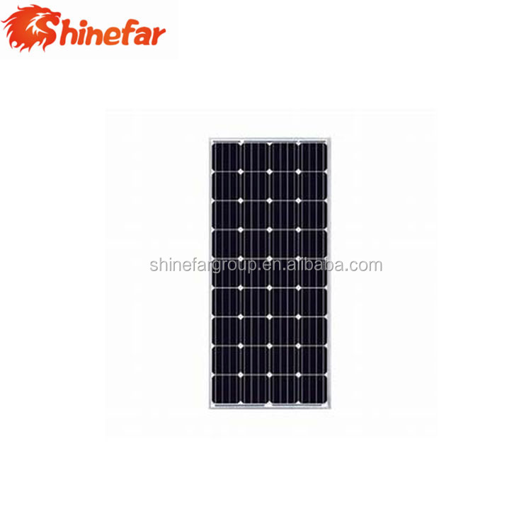 shinefar good quality product of 175W mono solar panel made in China