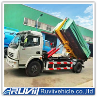 New Dump garbage truck/ small size garbage trucks ,Dump garbage truck with tipper body