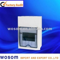 WS-MCU Metal Consumer unit Switched box can be fitted RCBOs