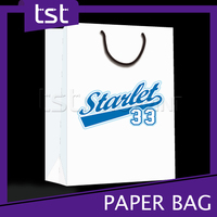 Custom Made Wax Paper Bag with Printing Service