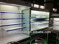 for fruit and vegetable refrigerator stand,fruit and vegetable chiller showcase
