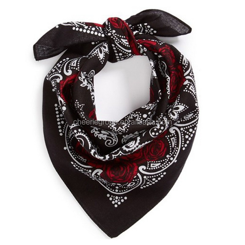 high quality cotton multifunctional bandana stock clearance headband cheap bandanas on sale