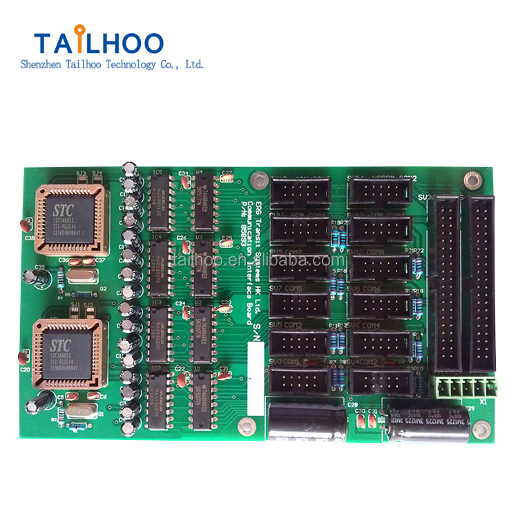 Mechanical and Electrical assembled pcb board assembly