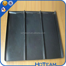 black color 3 divider ABS Vacuum thermoforming plastic tray with dividers