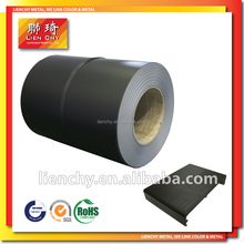 Fashionable Black Sands PVC/ VCM / PET /PP VCM Laminated Steel for 3C Products--- cases/ housings/or back panels
