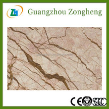 IL-LL01469W 60x90cm Sofitel Gold Color Marble Look Glass Tile Clear Glass Floor Tiles